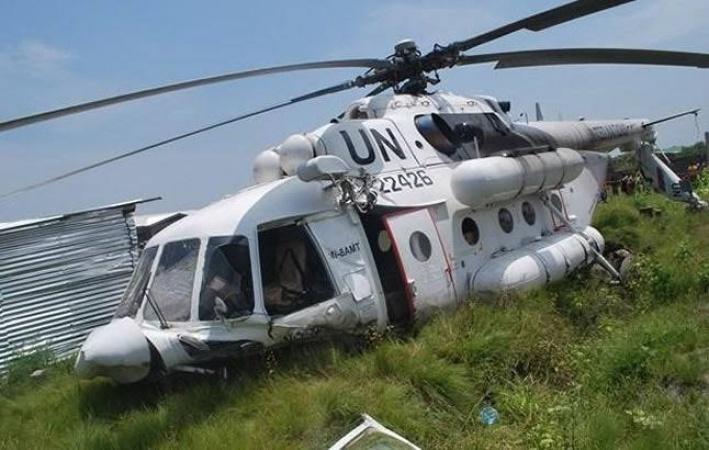 Boko Haram brings down UN helicopter in Borno, killing two civilians