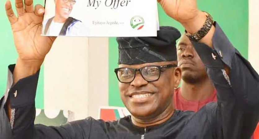 Ondo deputy-Gov loose out from PDP primary election, Eyitayo Jegede Emerge winner