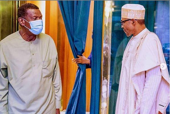 Amidst CAMA Saga Adeboye appears in Abuja