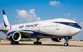 Air Peace to resume international flights in December