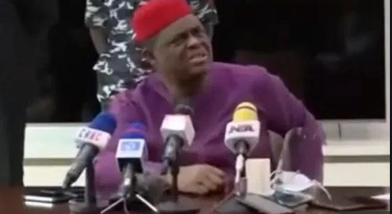 """Viral video: """"I could see from your face before you got here, how stupid you are, FFK attack Journalist"""