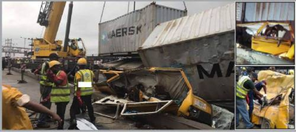 Painful story of Chidinma, who was crushed to death by container along Oshodi-Apapa expressway