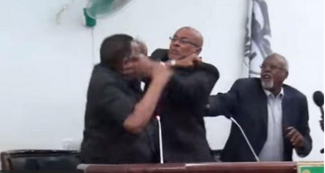 Media Stunt: Viral video of Somalia president and deputy is fake and misleading
