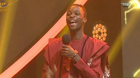 Olamilekan Agbeleshe (Laycon) emerges winner of Big Brother Naija season five