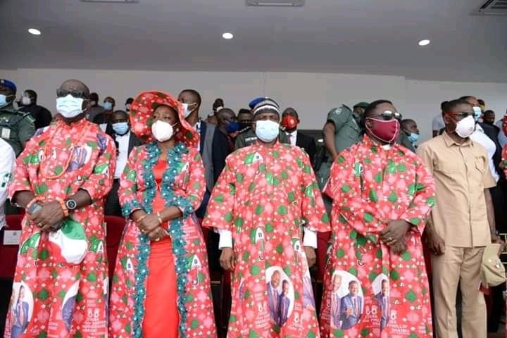 Edo 2020: PDP top politician storms Obaseki's grand finale campaign