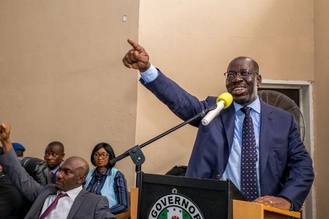 APC National caretaker committee Chairman Congratulate Obaseki