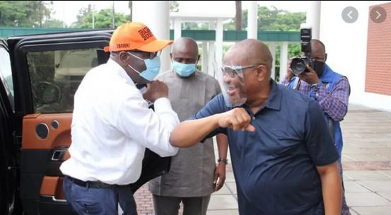 I cannot support a lily hearted person, you are courageous, Wike Praise Obaseki