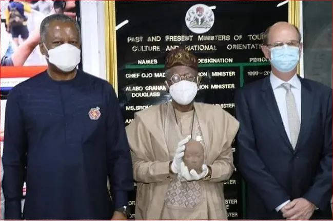 Over 600years old artefact stolen from Nigeria to Holland returned back