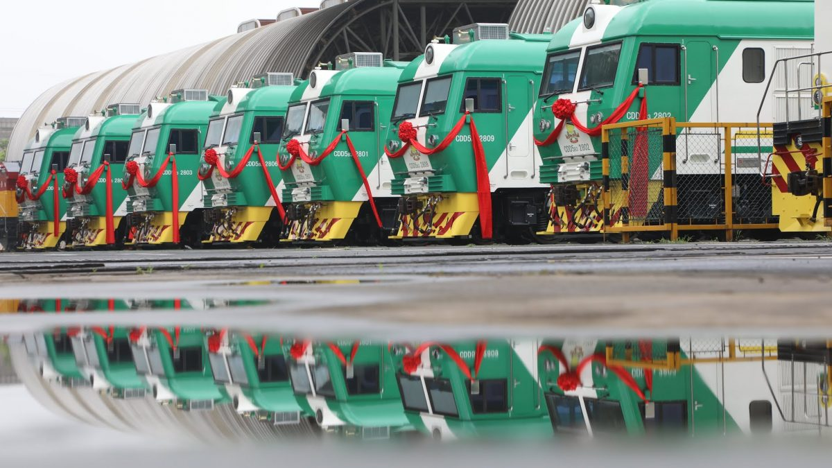 Malfunctioning locomotives train to be returned back to China