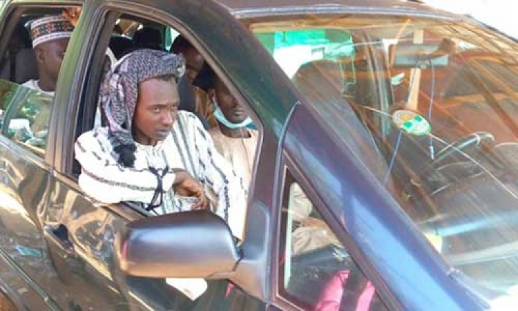 Drama as driver identify one of his kidnappers as one of the passengers
