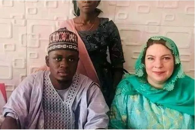 Historic Owambe: Thousands gathered to witness Suleiman age 23 and 46 years old America mother wedding in Kano