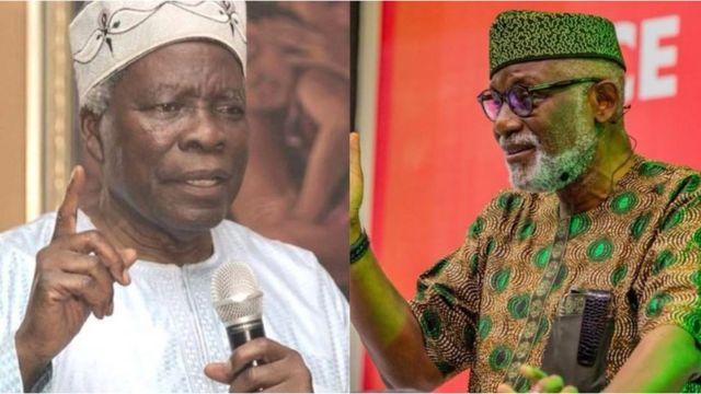 Prof. Akintoye and Gov. Akeredolu trades words over Yoruba Nation