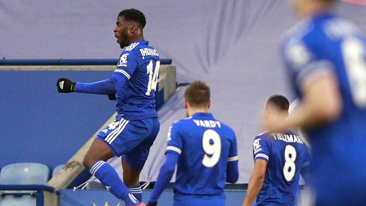 Kelechi Iheanacho brace sent Man-United out of FA race