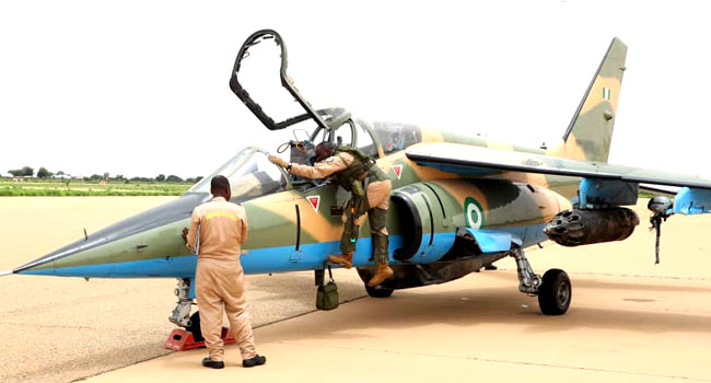 Missing Alfa jet yet to be found -NAF
