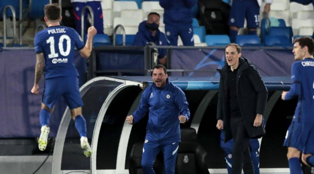 Champions League: Chelsea holds Madrid to 1-1 draw