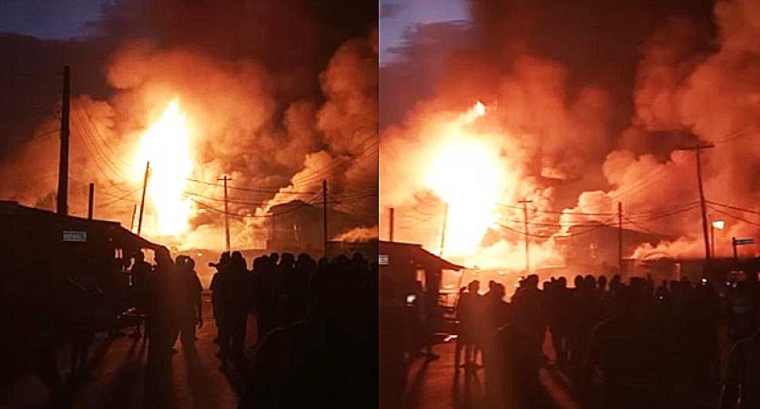 Gas explosion rocks Amuwo-Odofin area of Lagos again