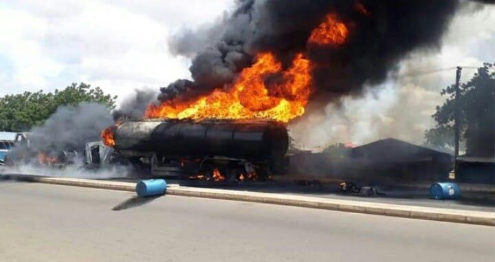 Tanker explosion leaves 12 persons death, 50 houses destroyed in Benue