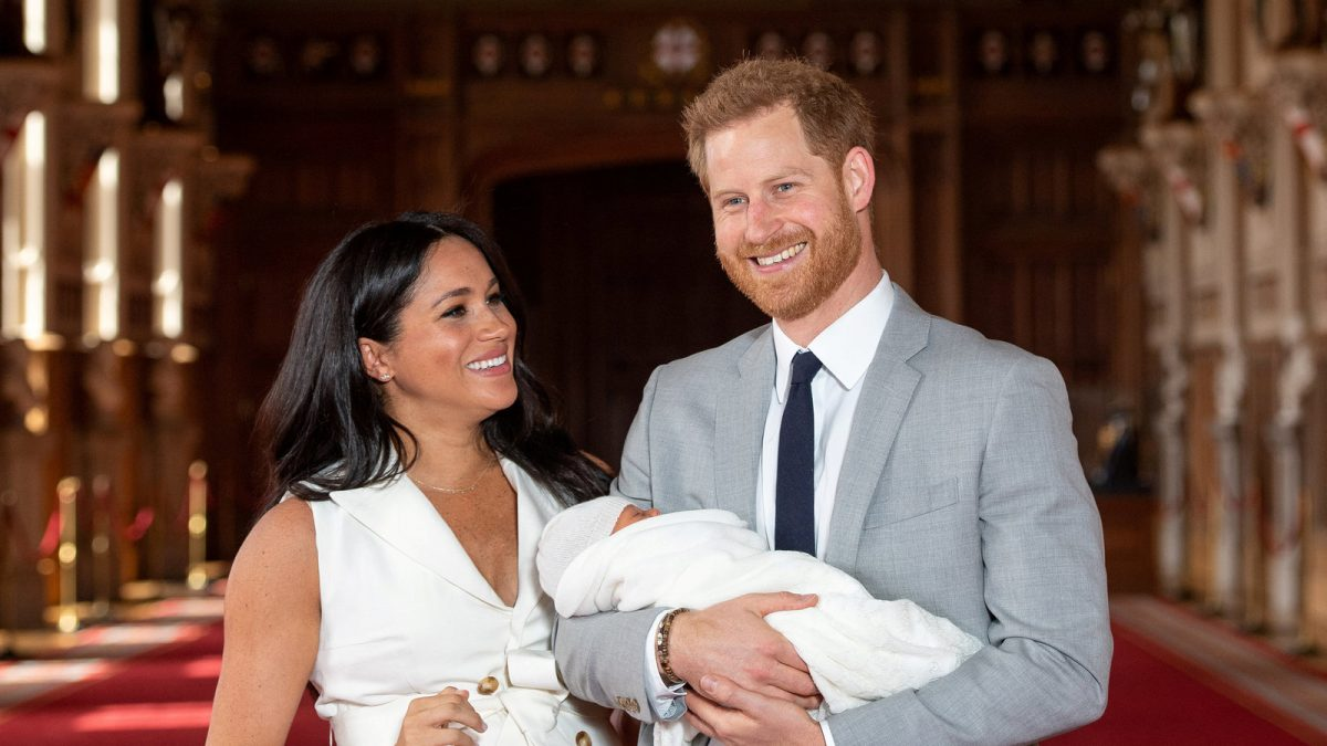 Prince Harry and wife Meghan welcome second child