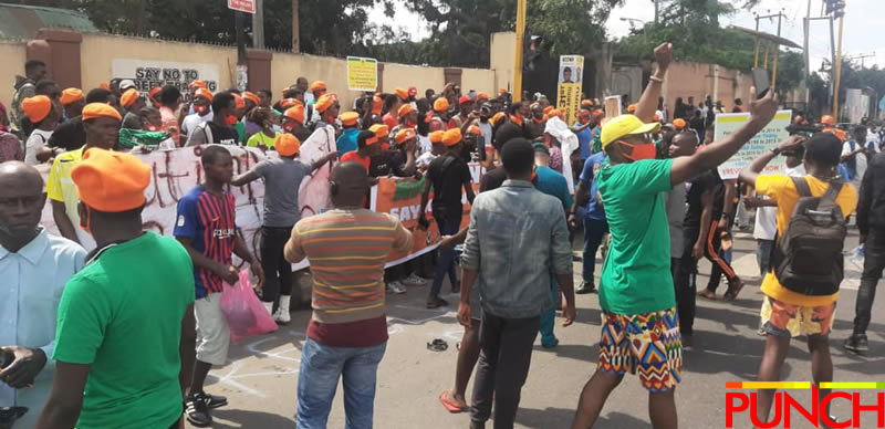 Protests re-surface again in Lagos, Abuja, Osun, Edo over insecurity