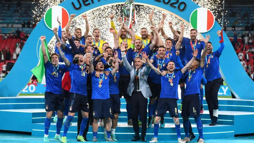 Italy defeats England 3-2 in penalty shootout to win Euro 2020