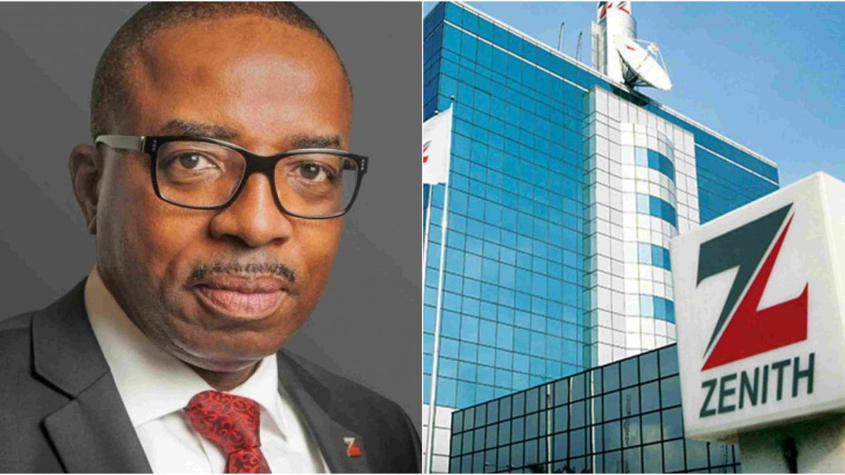 ZENITH BANK RECORDS A WHOOPING N117BILLION PBT IN 2021 HALF -YEAR FINANCIAL AUDIT
