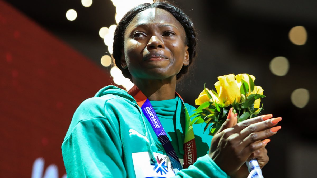Nigerians celebrate first medal at Tokyo Olympics