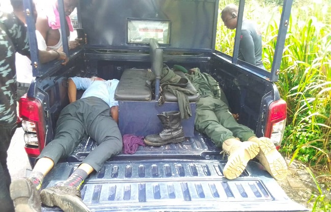 Armed Robbers attack Bullion Van, killed two officers, one bank official in Ondo