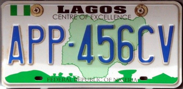 Lagosians to pay up to N37, 825 for new regular vehicle number plate