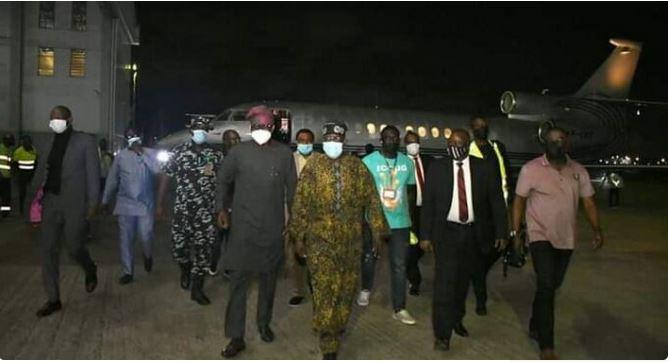 Amidst 2023 Presidential ambition rumor, Tinubu returns to Nigeria
